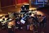 Blueshift Ensemble performers at work