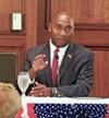 Democrat Lee Harris