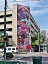 Derrick Dent and Michael Roy's mural