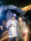Al Kapone and Oona Mitchell Bean at Zoo Rendezvous