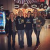 Shannon Arthur and others sport hoodies at Wolfchase Galleria