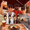 "Nate Carter, Todd Paden and Allison ""Sunny' Higi of Delta Sunshine Brewery."