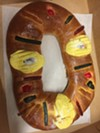 Three Kings cake for Epiphany