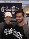 Kathleen Williams and Mats Jaslo at Grind City Coffee Expo.