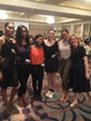 "New Ballet founding CEO/artistic director Katie Smythe with students at the ""Elevating Unity"" luncheon."