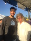 The great Dillon Brooks of the Memphis Grizzlies was at Memphis in May World Championship Barbecue Cooking Contest