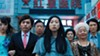 Awkwafina (center) stars in Lulu Wang's new heartfelt film <i>The Farewell</i>.