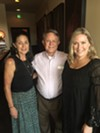 Darlene Winters, Sancy Schaeffer, and Napa Cafe owner Glenda Hastings at Stepping Out at Napa Cafe