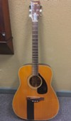 Chris Bell's acoustic guitar