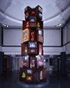 """Nam Jun Paik's """"Vid-O-belisk"""" (2002)"""