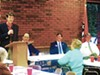 8th District contestants  (l to r) Brad Greer, George Flinn, Brian Kelsey, and Tom Leatherwood in Germantown