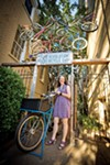 Sylvia Crum at Revolutions Bicycle Co-Op