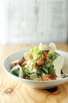 Romaine Salad with Chicken Skins at Hog & Hominy