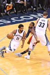 Mike Conley and Marc Gasol carried the Grizzlies down the stretch.