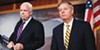 John McCain (left) and Lindsey Graham