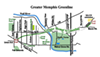 Proposed Memphis Greenline