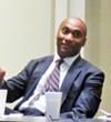 Harris at NFIB meeting