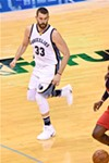 Marc Gasol rested at Cleveland and only needed to play 28 minutes at home.
