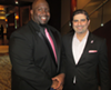 Marcus Bell and Romeo Khazen at Susan B. Komen