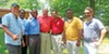 Among the attendees at Saturday's annual Sidney Chism political picnic were (l to r) Terry Lynch, County Commissioners Eddie Jones and Van Turner, Karl Schledwitz, Commissioners Willie Brooks and Melvin Burgess, and Assessor candidate Shawn Lynch.
