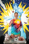 David Acklin of Jerry's Sno Cones
