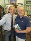 "Memphis magazine managing editor Frank Murtaugh and Memphis Flyer editor Bruce VanWyngarden at Murtaugh's book signing for his novel, ""Trey's Company."""
