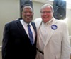 Bonner with incumbent Sheriff Bill Oldham,who endorsed him.