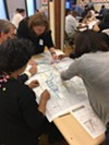 Stakeholders mapping out their ideal transit network for Memphis
