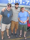 William Skinner, Devin Desimone and Mark Goldsmith at Cooper-Young Beerfest.