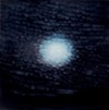 "<i>Nightfall: Clouds and Moon</i> 2006 from Veda Reed's ""Day into Night"""
