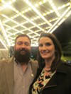 """Blake Lichterman and Ruthie O'Ryan at """"Sixty Soulful Years."""