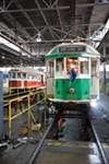 South Main trolleys under repair