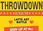 Latte Art Throwdown