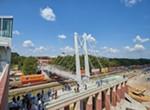 Beat the Train: U of M Pedestrian Bridge Opens