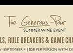 Generous Pour Wine Event