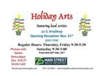 Holiday Arts Pop-Up Shop