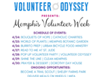 Memphis Volunteer Week: Pop Up Volunteer Party