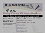 Shelby County TN Prayer Breakfast