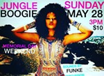Jungle Boogie: Patio Sessions Memorial Day Weekend