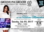 All White Party with a Purpose