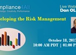 How to Develop the Risk Management File - 2017