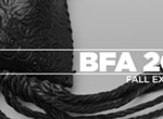 Opening reception for 2017 Fall BFA Thesis