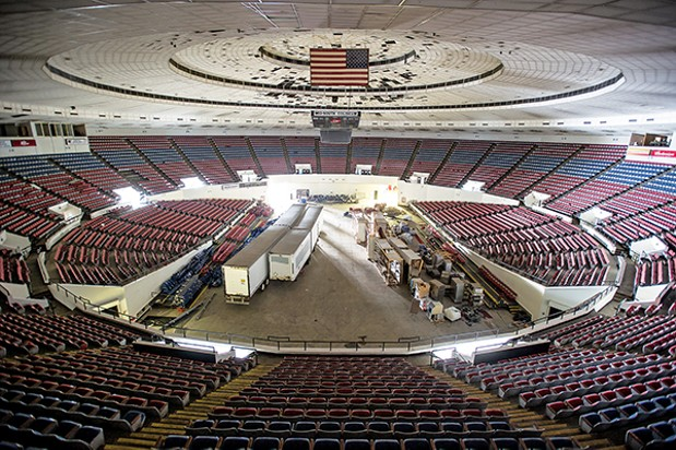 City Opens Up Mid South Coliseum For Review The Fly By