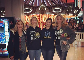 Group of White Women Test Mall's No Hoodie Policy