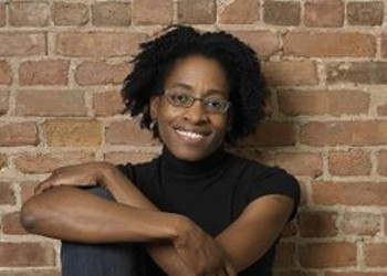 Author Jacqueline Woodson is coming to story booth