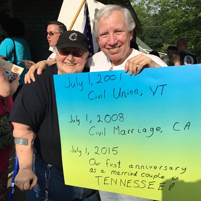 Tennessee Equality Project Marriage Celebration