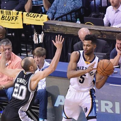 Grizzlies vs. Spurs, Game 6