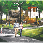 Source: Memphis and Shelby County Office of Planning and Development<br>   <br>   Images of Memphis River Parks Partnerships' plans to re-imagine Mississippi River Park.<br>
