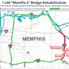 Lane Closures Ahead on I-240 for Bridge Work
