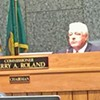 After a Month's Delay, the County Commission Has a New Chair — Terry Roland